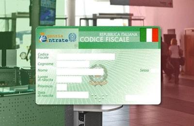 Codice Fiscale налоговый номер